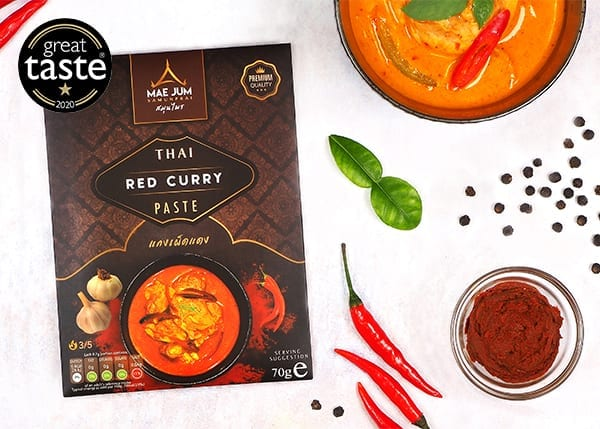 Great Taste award winning Thai red curry paste - which is hotter?
