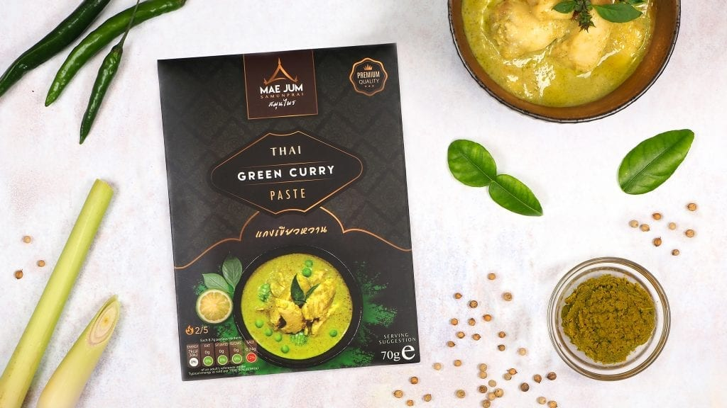 Great taster award winning thai green curry paste - which is hotter?