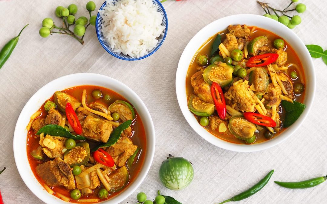 Thai Jungle Curry with Traditional Vegetables