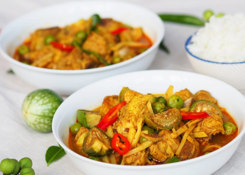 Traditional Thai Jungle Curry