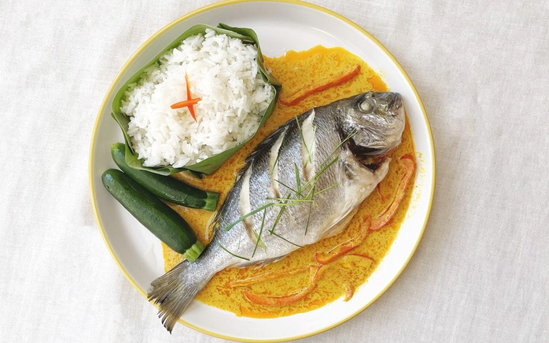 Sea Bream Thai Yellow Curry