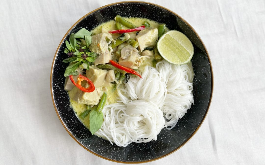 Jackfruit Thai Green Curry