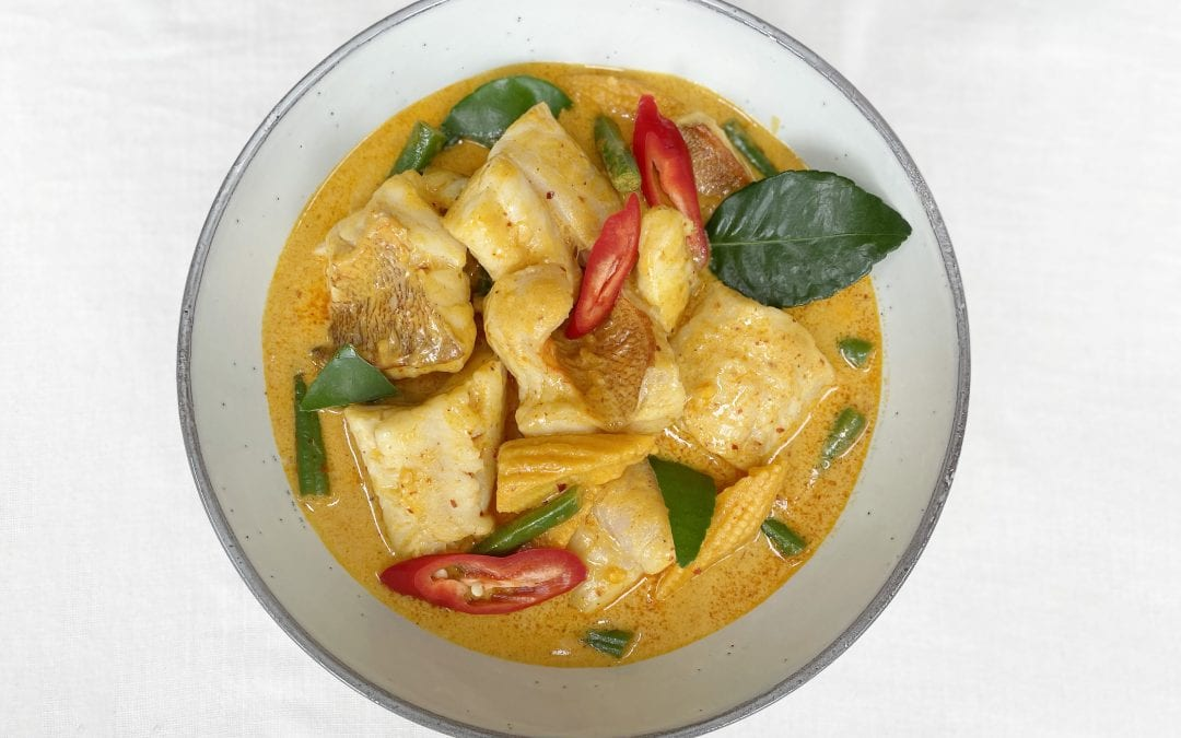 Fish Thai Red Curry